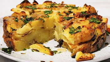 Potato and Parsnip Cake