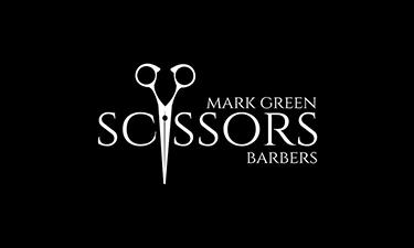 Scissors Barbers Logo
