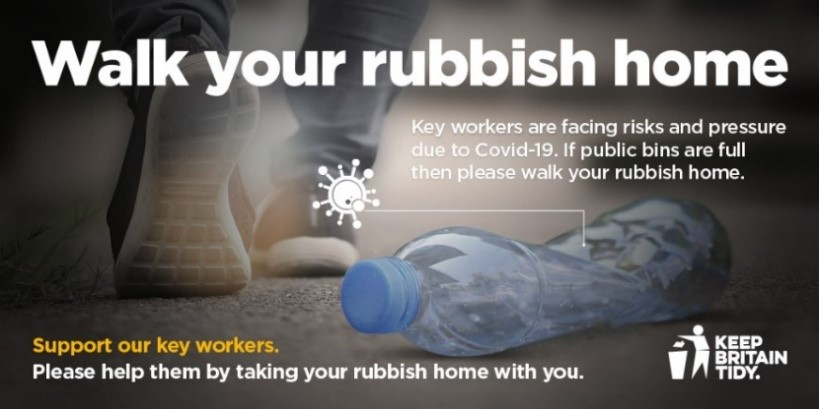walk your rubbish home