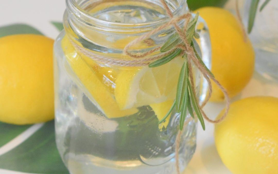 detoxing lemon