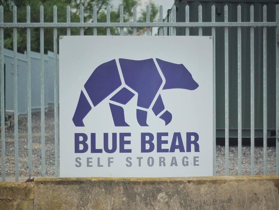 Blue bear storage