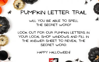 Pumpkin Letter Trail